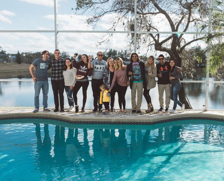 familia em Orlando