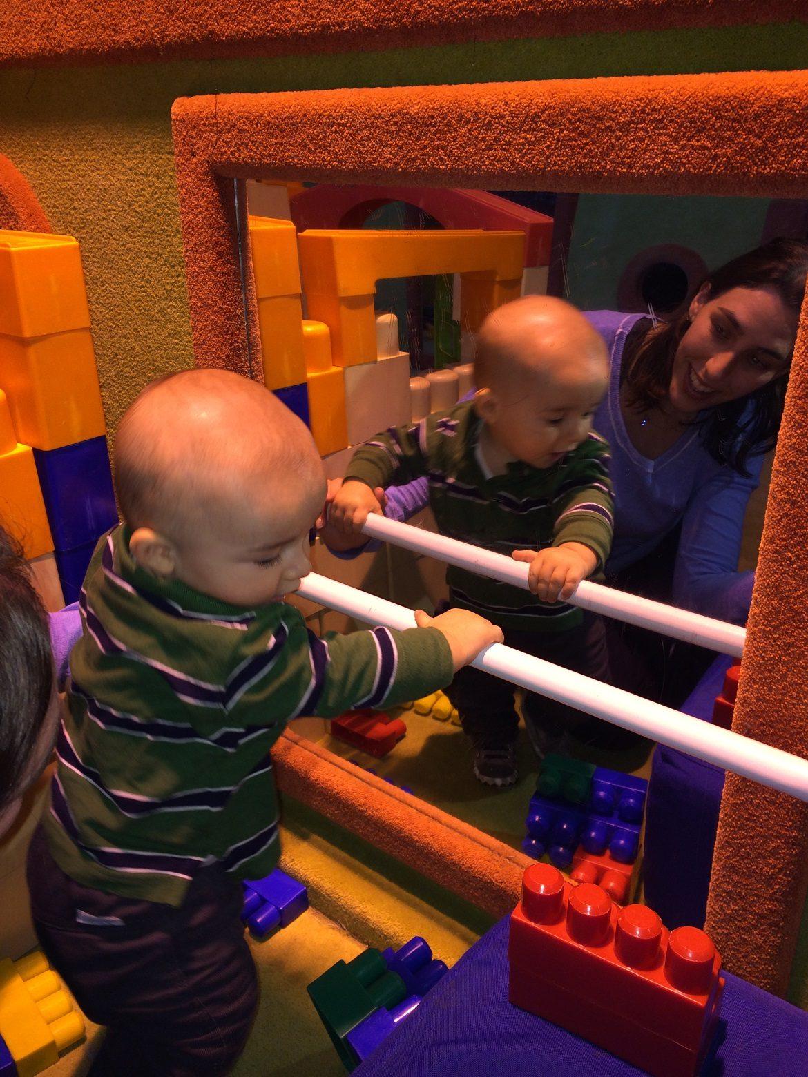 Museu de los niños - área para bebês