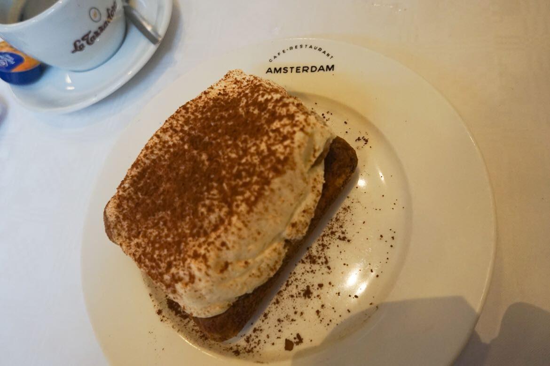 Refeição - Café Restaurante Amsterdam