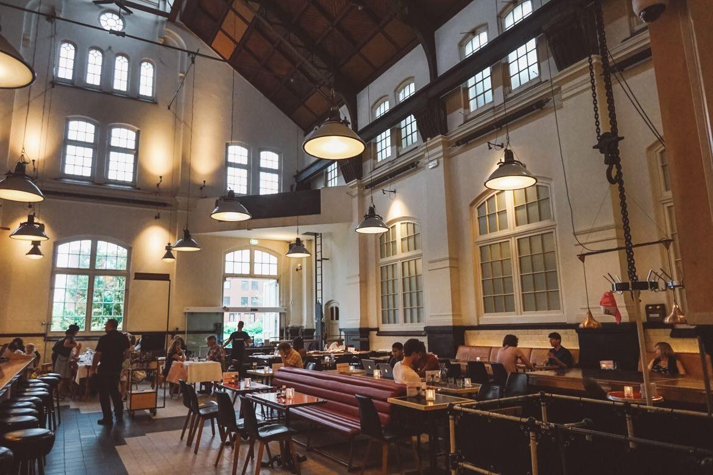 Salão - Café Restaurante Amsterdam