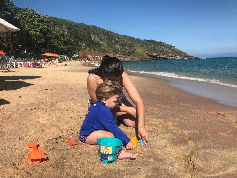 Praia de João Fernandes, onde está o Rio Búzios Beach Hotel