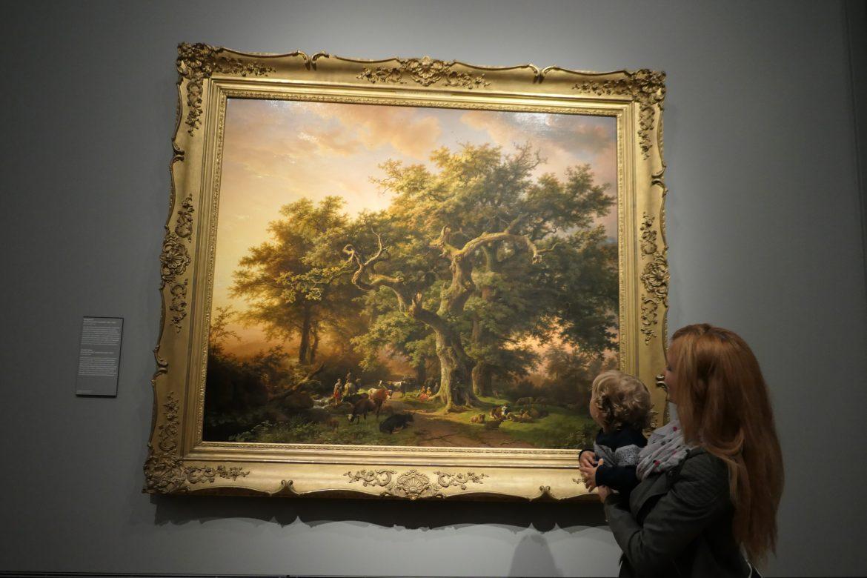 passeio no museu com crianças Rijksmuseum Amsterdam quadro