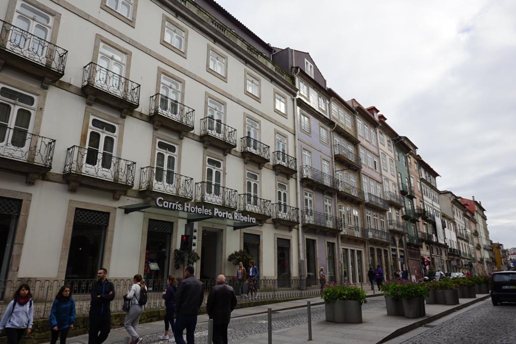 Fachada do Hotel Carrís