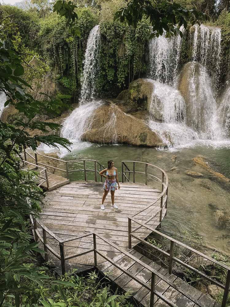 Parque das Cachoeiras - Mãe no Mundo - Bonito em família